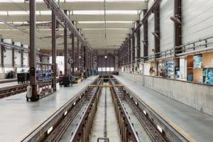 מפעל לאחר נקיון